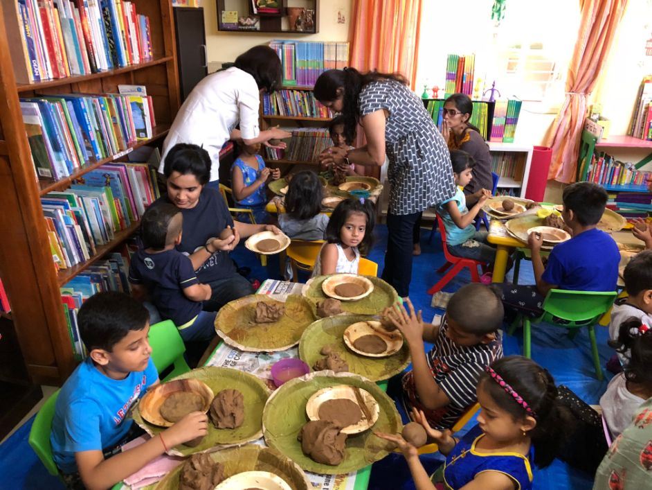 Activities at the Children's library