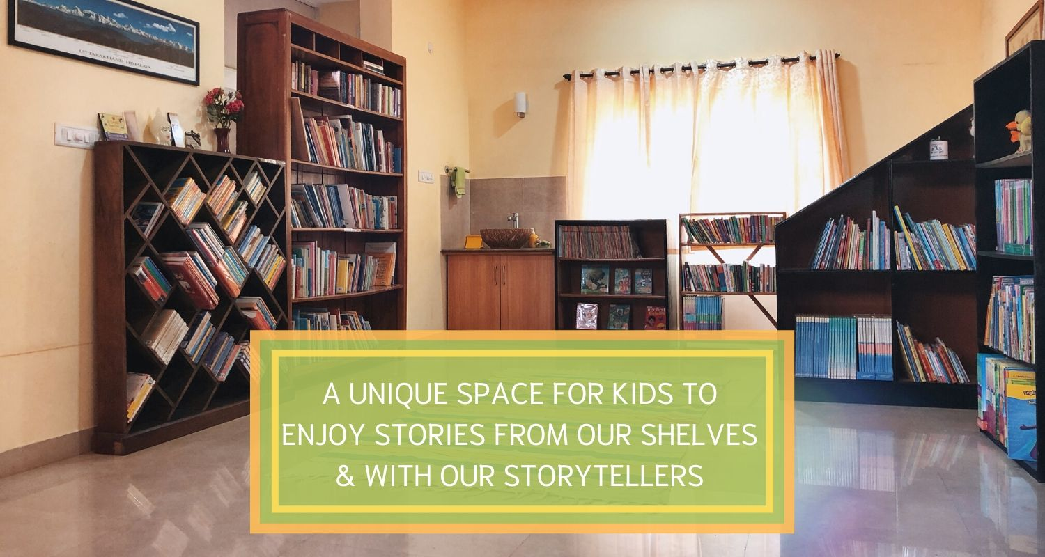Children's library in Bangalore