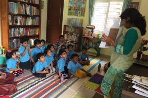 co-founder of the kid's library bangalore